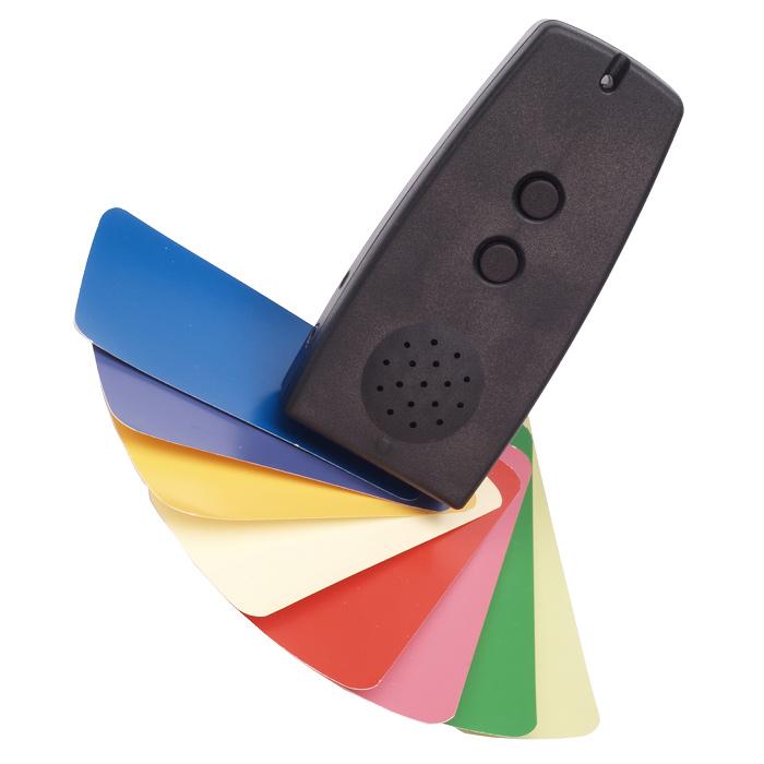 音声色彩判別装置 カラリーノ CORORINO Times おすすめ 視覚障害 視覚障がい 携帯用