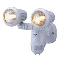 センサーライト 屋外 ハロゲンライト 防雨 M 100W×2 ライテックスシリーズ M-2200 MUSASHI [ムサシ]
