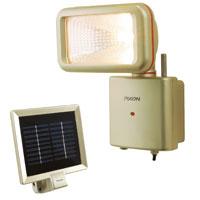 ワイヤレスシリーズ ソーラーライト PX-950 MUSASHI [ムサシ] スポットライト 屋外 人感センサー 明るい 防犯 照明 防雨型 ライト