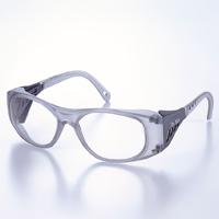 保護メガネ [ブローガード付き] オールプラスチックフレーム TA-300-TBCR [JISCR]