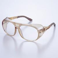 メガネ アイカップフレーム UL-108B-TBPCF [JISPCF] モダン部曲調整可 保護メガネ [スペクタクル形]