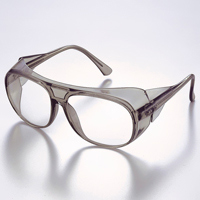 メガネ アイカップフレーム UL-101-TBCR [JISCR] 保護メガネ [スペクタクル形]