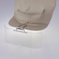 保護めがね 布帽子取付形 HS-1 2MMアクリルカラー