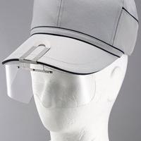 保護めがね 布帽子取付形 HS-4 ニュ-プラスチック 新製品