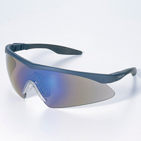 保護メガネ [スペクタクル形] Pit Pit 2773-PC ブルーミラー