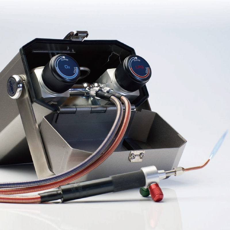 ミニトーチ NT-PRO 小型溶接機 L13002 日本炭酸瓦斯 ロウ付け 工具 溶接 バーナー