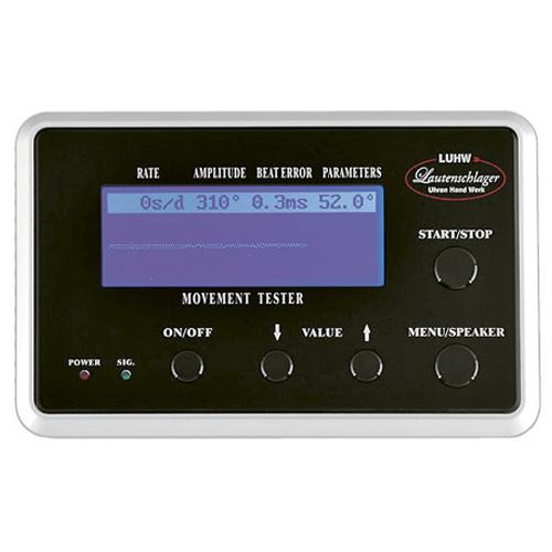 機械式時計専用歩度測定器[タイムグラファー] LU11000BK エスプリマ Es prima 自動巻き時計計測器 工具 業務用