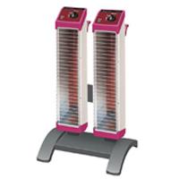 セラムヒート ツインタイプスタンド付 2連型 ERK20MD 遠赤外線 暖房機 ダイキン [DAIKIN]
