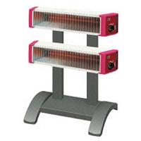セラムヒート ツインタイプスタンド付 2連型 ERK20MDH 遠赤外線 暖房機 ダイキン [DAIKIN]