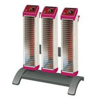 セラムヒート トリプルタイプスタンド付 3連型 ERK30MM  遠赤外線 暖房機 ダイキン [DAIKIN]