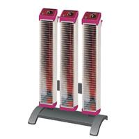 セラムヒート トリプルタイプスタンド付 3連型 ERK45MM 遠赤外線 暖房機 ダイキン [DAIKIN]