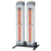 DENSO 遠赤外線 ヒーター EK-20RM エンセキ 床置き式タイプ 自動首振り 暖房 デンソー
