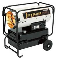ジェットヒーター 熱風式直火形 HPE310-L オリオン ORION