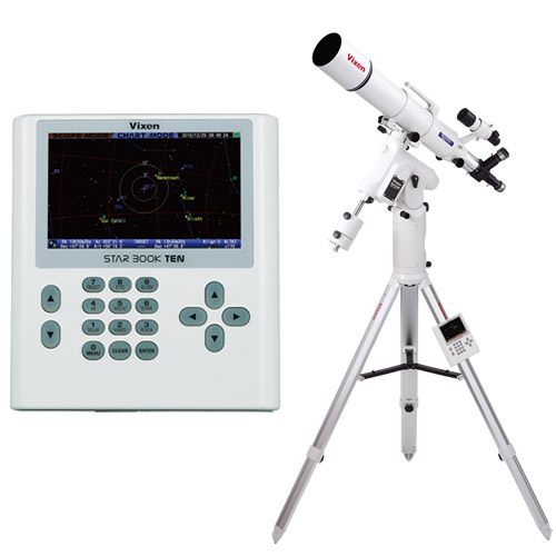 天体望遠鏡 SXD2赤道儀・PFL-ED103S ビクセン 自動追尾 自動導入 VIXEN 宙ガール 天体観測 STAR BOOK TEN 屈折式 星景 星野 撮影 写真