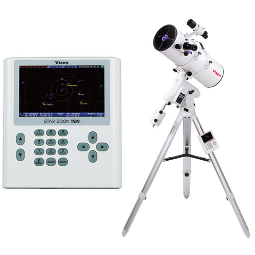 天体望遠鏡 SXD2赤道儀・PFL-R200SS-S ビクセン 自動追尾 自動導入 VIXEN 宙ガール 天体観測 STAR BOOK TEN 反射式 星景 星野 撮影 写真