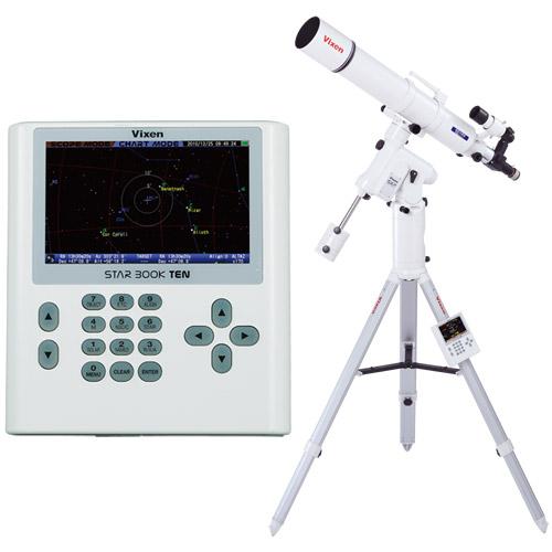 天体望遠鏡 SXP赤道儀・PFL-ED115S ビクセン 自動追尾 自動導入 VIXEN 宙ガール 天体観測 STAR BOOK TEN 屈折式 星景 星野 撮影 写真