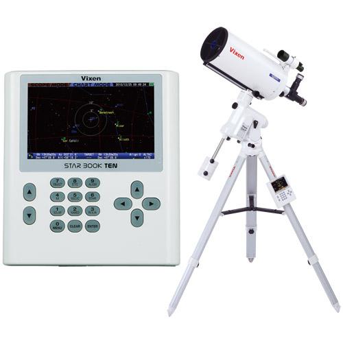 天体望遠鏡 SXP赤道儀・PFL-VC200L ビクセン 自動追尾 自動導入 VIXEN 宙ガール 天体観測 STAR BOOK TEN カタディオプトリック式 星景 星野 撮影 写真