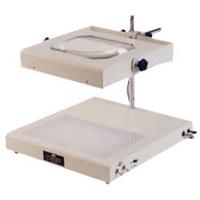 照明拡大鏡 ライトボックス式 WIDE-1 [2倍] オーツカ光学 拡大鏡 照明拡大鏡 ルーペ 検査