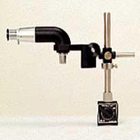 工作用顕微鏡 [ツールスコープ] L型 100倍 カートン 顕微鏡 工作用顕微鏡 チャート視度調節型