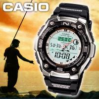 カシオ CASIO スポーツギア SPORTS GEAR AQW-101J-1AJF 釣り フィッシングタイム スポーツウォッチ カシオ スポーツギア SPORTS GEAR