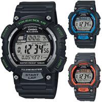 カシオ スポーツウオッチ SPORTS GEAR[タフソーラー] STL-S100H CASIO ランニング ランナーズ 腕時計 ジョギング スポーツ マラソン ソーラー充電