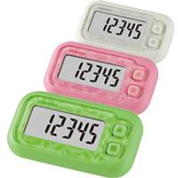 万歩計 歩数計 小型 ヤマサ ダイエット ポケット万歩 EX-200 簡単操作で3D加速度センサー付き らくらくまんぽ ダイエット