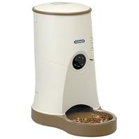ペット自動給餌器 わんにゃんぐるめ ベージュ CD-600 YAMASA 自動給餌器 犬 猫 餌やり機 タイマー ペット用品