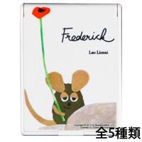 レオレオニ コンパクトミラーSS Leo Lionni's Friends LE-30 レオレオニ フレデリック コンパクトミラー 手鏡 ミラー メイクアップ ハンドミラー 鏡