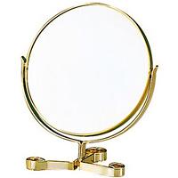 卓上ミラー 拡大鏡 メイク スタンドミラー 卓上 ヤマムラ 2倍拡大鏡 メイク [拡大ミラー]付き 3WAY 手鏡 [ハンドミラー] アンティーク 老眼