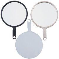 ハンドミラー [手鏡] LL 塗装 【ミラー ハンドミラー 鏡 手鏡 丸型 シンプル 可愛い 売れ筋】