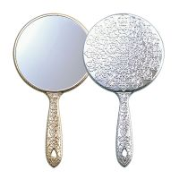 手鏡 メッキハンドミラー S 姫系 デコラティブ キラキラ ミラー [鏡] メイク用