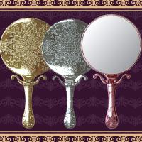 [姫] トゥウィンクル ハンド & スタンドミラー ヤマムラ [鏡] 手鏡 メッキ ハンドミラー 卓上ミラー