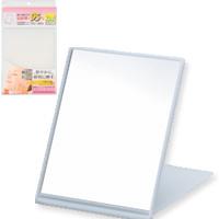 BE CLEAR 角型 プロ仕様 [鏡] コンパクトミラーL YBC-900 [メイク用鏡] 【鏡 かがみ 卓上鏡 卓上ミラー 毛穴 シミ シワ メイク プロ仕様 持ち運び便利 おすすめ 売れ筋 シンプル】