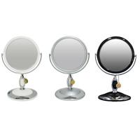 卓上ミラー 拡大鏡 メイク スタンドミラー 卓上 ヤマムラ UV塗装 [鏡] 3倍 拡大鏡 メイク付き [L] 高級感のある拡大鏡 メイクシリーズ