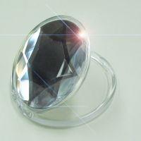 訳あり アウトレット 鏡 コンパクトミラー ジュエリー ダイアモンド 手鏡 メイク かわいい おしゃれ