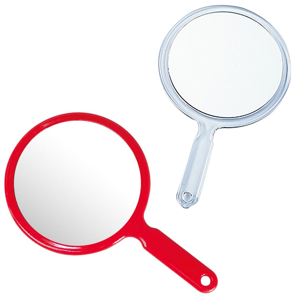 両面ハンドミラー [手鏡] L 2倍拡大鏡 [拡大ミラー] 付き 【両面 ミラー ハンドミラー 鏡 手鏡 丸型 可愛い 売れ筋】