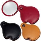 本革製ポケットルーペ3123 3.5倍 携帯用虫眼鏡