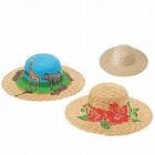 麦わらぼうし 帽子 15インチ