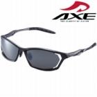偏光サングラス ASP-390 GM UV400カット マットガンメタル AXE(アックス)