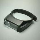 双眼ヘッドルーペ ヘッドバンド式 1.8倍 補助レンズ付