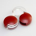虫眼鏡 拡大鏡 非球面ポケットルーペ 35mm 4倍 携帯用 モビレント 1710-14