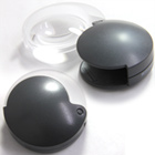 虫眼鏡 拡大鏡 非球面 ポケットルーペ 35mm 7倍 携帯用 モビレント 1710-67
