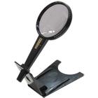虫眼鏡 【アウトレット セール】 ハンドルーペ スタンド 2.5倍&5倍 75mm ルーペ スタンド 拡大鏡 訳あり