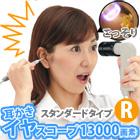 耳かき ライト イヤースコープ led ライト付 13000画素 R