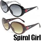 Spiral Girl [スパイラルガール] サングラス sps-6001 レディース ファッショングラス オシャレ 渋谷 109