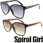 Spiral Girl [スパイラルガール] サングラス オシャレ sps-6002 レディース ファッショングラス 渋谷 109