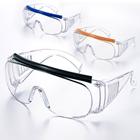 保護めがね オーバーグラス 2200 PC 4種類のカラーヘッドクッション
