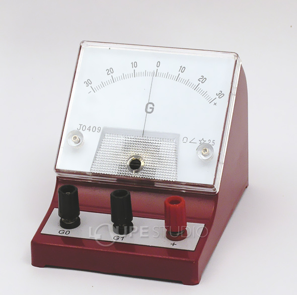 計測器 AT検流計 ガルバノメーター 計測器 実験 理科 検流計 学校教材 電気