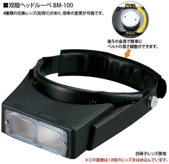 双眼ヘッドルーペ BM-100C2.7倍のご紹介