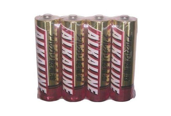三菱 アルカリ乾電池 単3 LR6R/4S